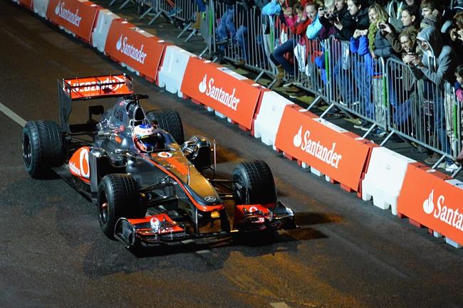 Jenson Button - En Frome con McLaren