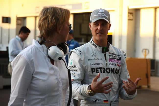Michael Schumacher y Sabine Kehm