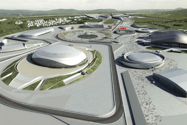 Gran Premio Rusia - Sochi - Render Circuito