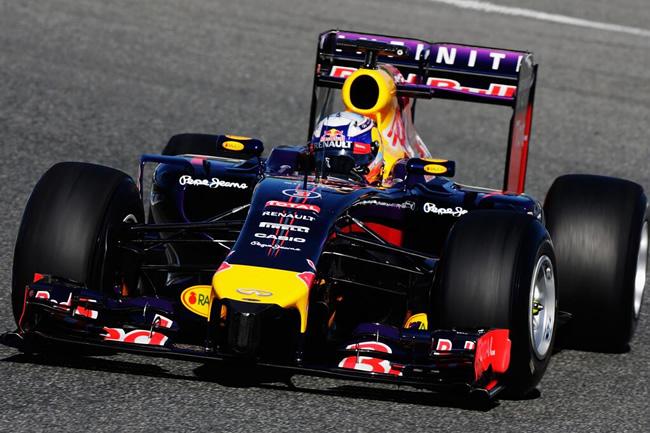 Daniel Ricciardo - Red Bull - RB10 - Test Jerez 2014