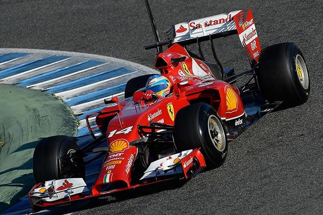 Fernando Alonso - Ferrari - F14T - Temporada - 2014 - Test Jerez - Tercer día