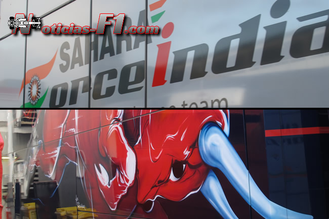 Force India y Toro Rosso
