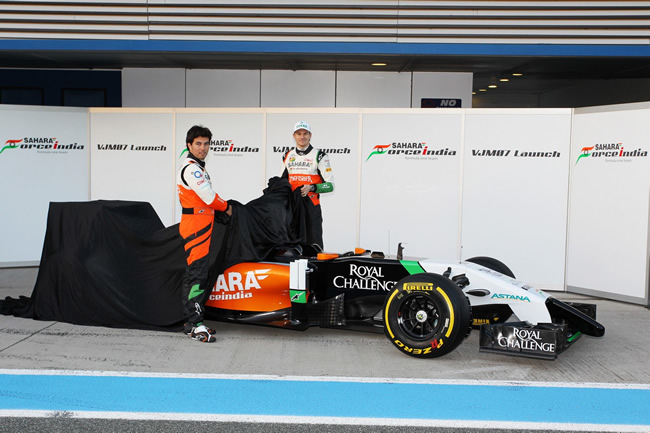 Sahara Force India - VJM07 - 2