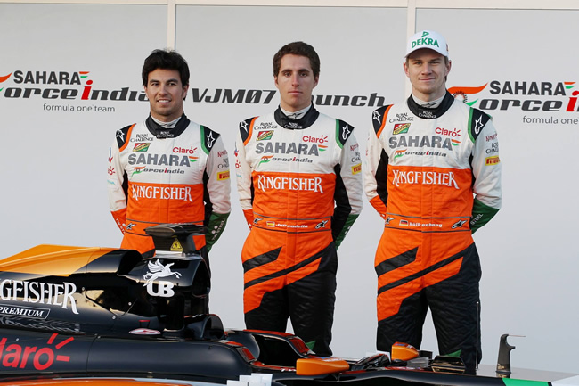 Sahara Force India - VJM07 - 3