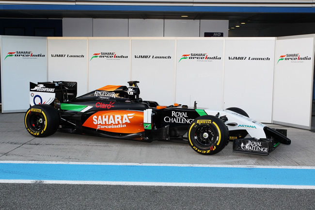 Sahara Force India - VJM07 - 5