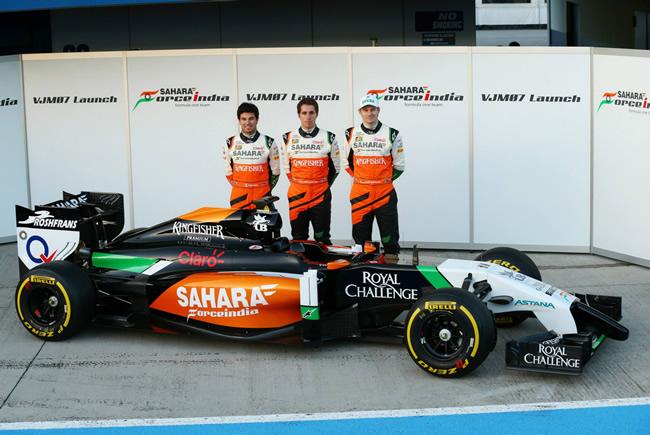 Sahara Force India - VJM07 - 6
