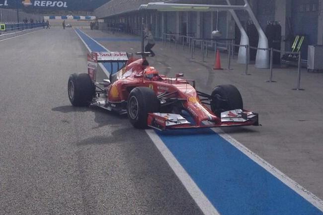 Kimi Raikkonen - Ferrari - Test Jerez - Dia 1 - Temporada - 2014