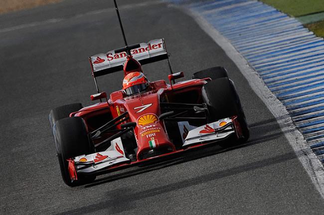Kimi Raikkonen - Scuderia Ferrari - Test Jerez - Día 2