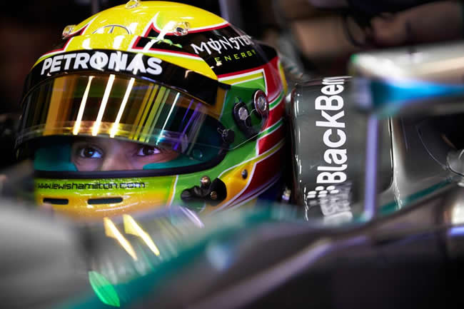 Lewis Hamilton - Mercedes - F1 W05 - Test Jerez 2014