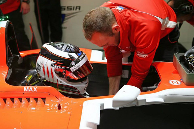 Max Chilton - MR03 - Marussia - Test Jerez - 2014