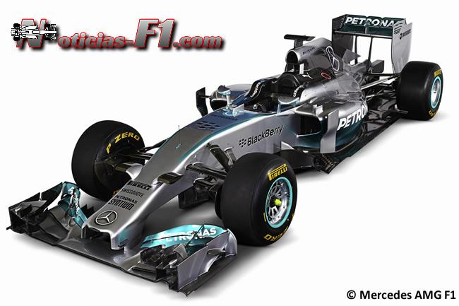 Mercedes AMG F1 - W05 - 2