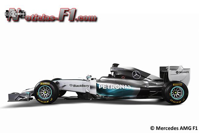 Mercedes AMG F1 - W05 - 3