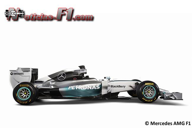 Mercedes AMG F1 - W05 - 4