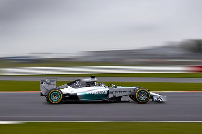 Mercedes AMG F1 - W05 - 5 - Nico Rosberg