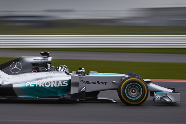 Mercedes AMG F1 - W05 - 6 - Nico Rosberg