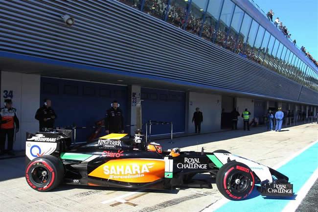 Nico Hulkenberg - Sahara Force India - Test - 2014 - Jerez - VJM07