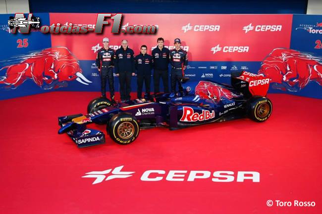Presentación - Toro Rosso - STR9 - 10