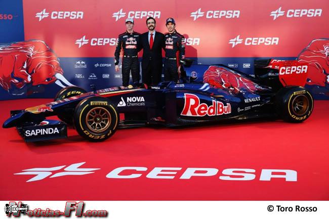 Presentación - Toro Rosso - STR9 - 3