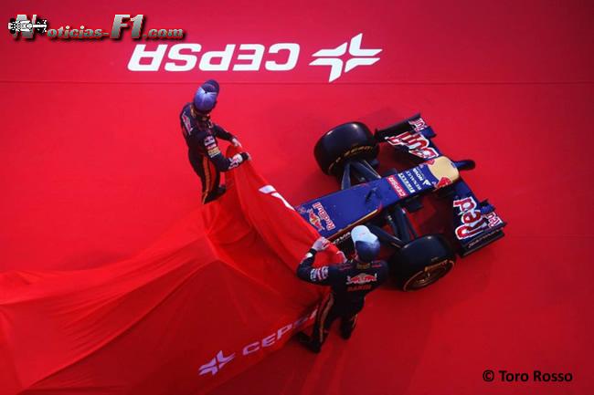 Presentación - Toro Rosso - STR9 - 7