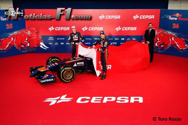 Presentación - Toro Rosso - STR9 - 1