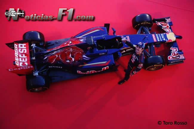 Presentación - Toro Rosso - STR9 - 2