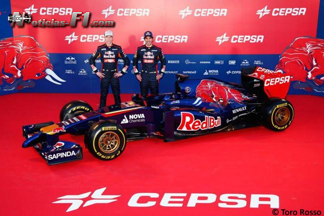 Presentación - Toro Rosso - STR9 - 5