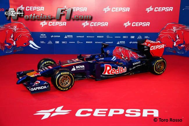 Presentación - Toro Rosso - STR9 - 6