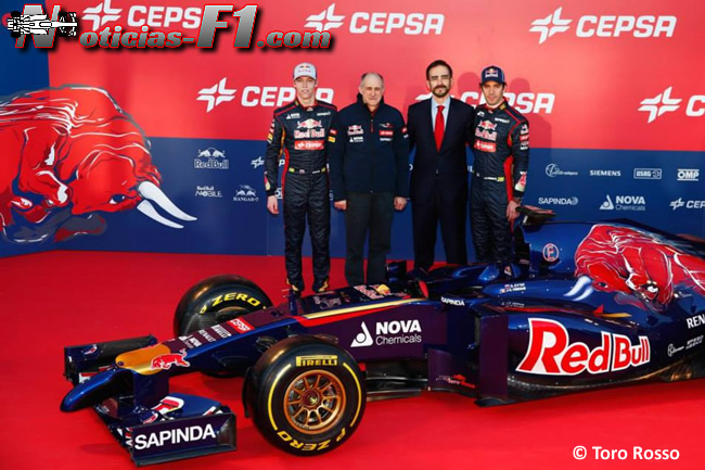 Presentación - Toro Rosso - STR9 - 9
