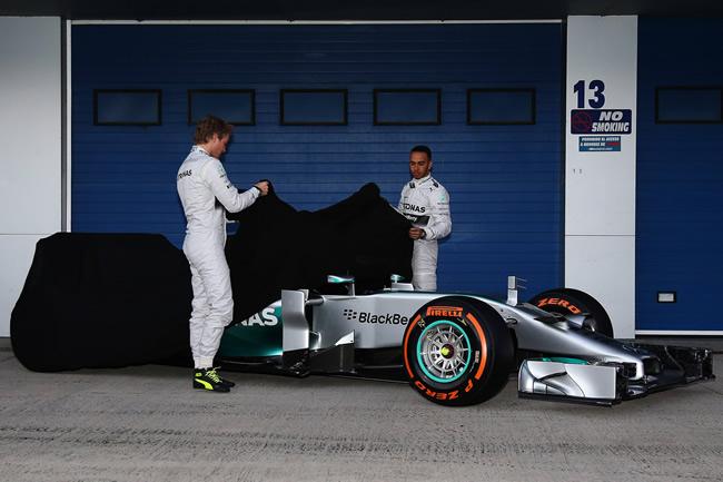 Presentación - Mercedes AMG F1 - W05 - 2