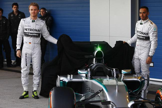 Presentación - Mercedes AMG F1 - W05 - 3