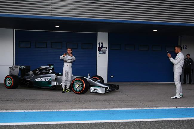 Presentación - Mercedes AMG F1 - W05 - 5