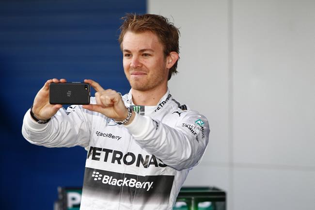 Presentación - Mercedes AMG F1 - W05 - 7 - Nico Rosberg