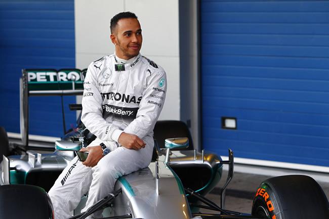 Presentación - Mercedes AMG F1 - W05 - 7 - Lewis Hamilton