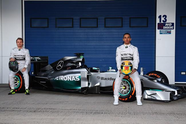 Presentación - Mercedes AMG F1 - W05 - 9