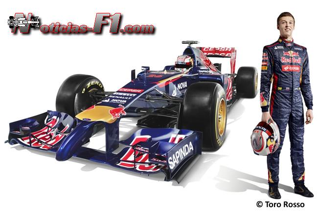 Toro Rosso - STR9 - 7 - Daniil Kvyat