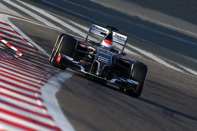 Adrian Sutil - Test - Bahréin - Sauber - día 1