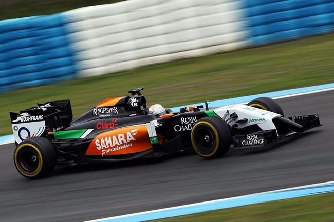 Daniel Juncadella - Force India - VJM07 - Test Jerez - 2014