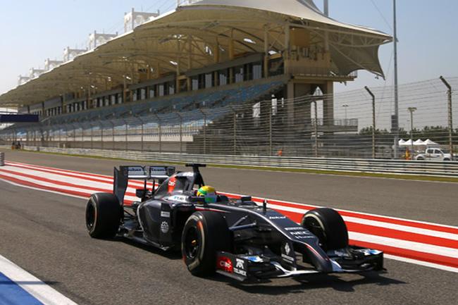 Esteban Gutiérrez - Test Bahréin - Día 2 - Sauber - 2014