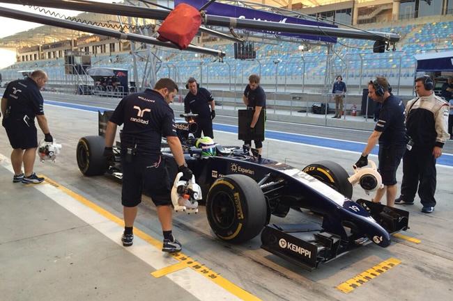 Felipe Massa - Williams - Test Bahréin - Tercer día  - 2014