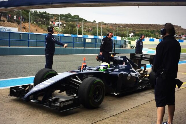 Felipe Massa - Williams - FW36 - Test Jerez - Cuarto día