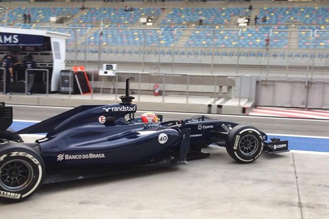 Felipe Nasr - Williams - día 4- Bahréin - 2014