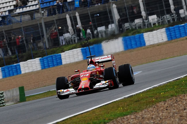 Fernando Alonso - Ferrari - F14 t - Test Jerez - 2014