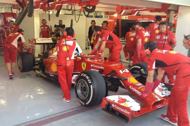 Fernando Alonso - Ferrari - Test - Bahréin - día 1 - 2014