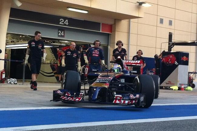 Jean-Eric Vergne - Toro Rosso - Test Bahréin - 2014 - día 2
