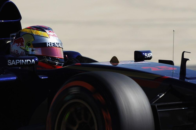 Jean-Erci Vergne - Toro Rosso - día 4 - Test Bahréin - 2014