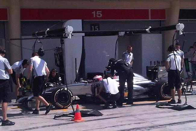 Jenson Button - Test Bahréin - McLaren - 2014 - día 3