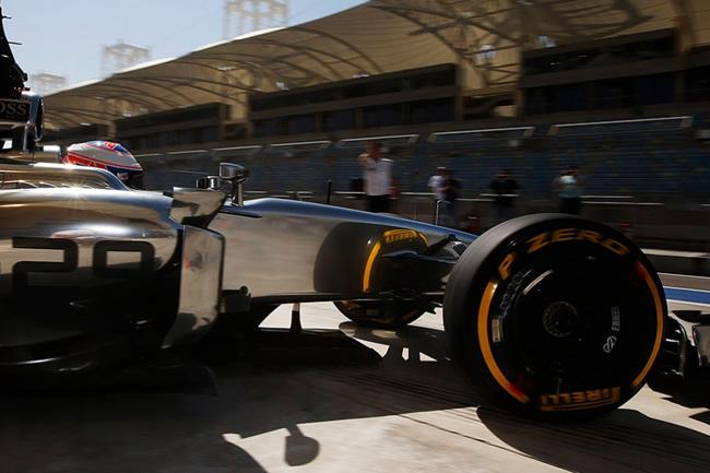 Jenson Button - McLaren - Test BahréIn - MP4-29 - 2014 - Día 4