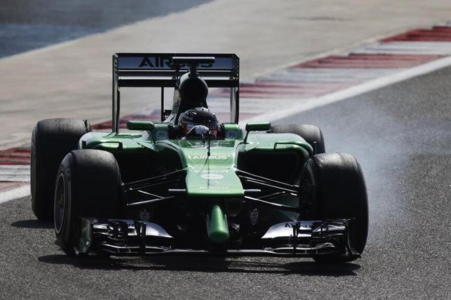 Kamui Kobayashi - Caterham - 2014 - Test Bahréin 2 - día 1 - 5