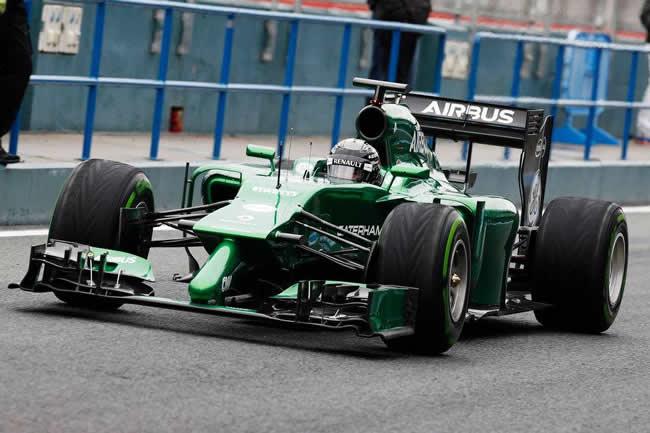Kamui Kobayashi - Caterham - Ct05 - Test Jerez 2014