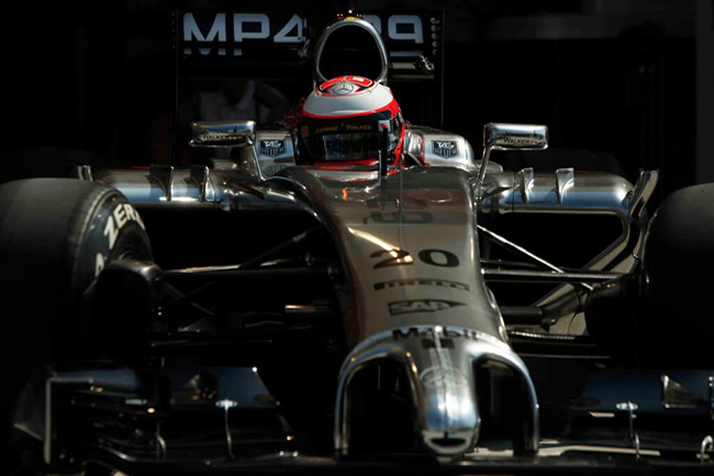 Kevin Magnussen - Test - Bahréin - día 1- McLaren - 2014